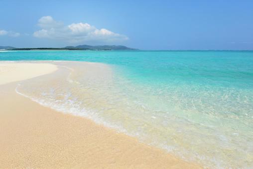 Okinawa beautiful sea sightseeing spot