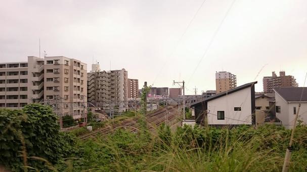 Kagoshima Main Line Near Fukuma station