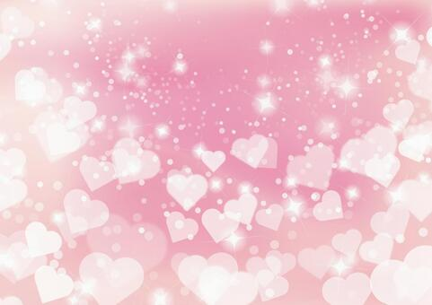 Heart pink glow abstract background material texture