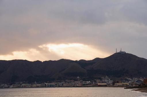 函館夕焼け2