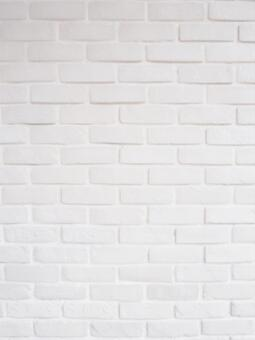 White brick wall 2 (vertical version) texture