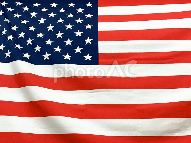 星条旗・アメリカの国旗の写真