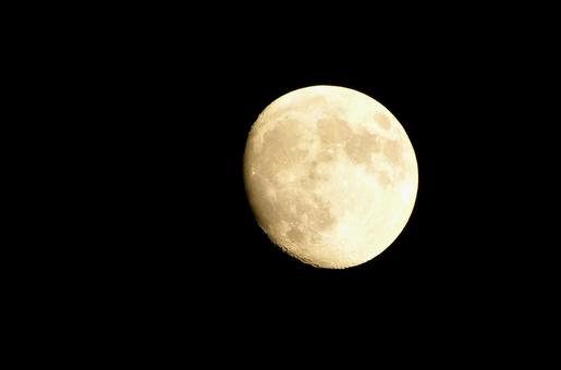 The moon of the night (age 12.3)