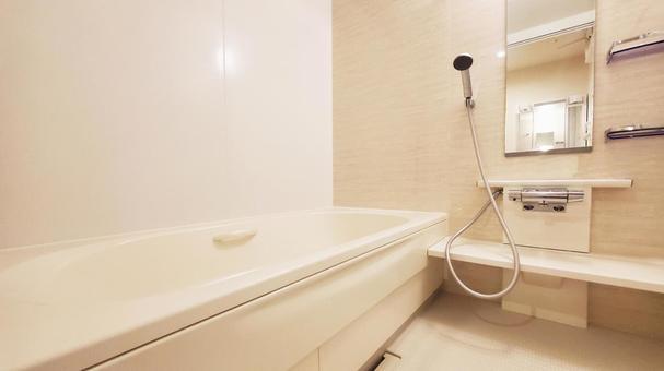 1 tsubo type bath Newly built bathroom
