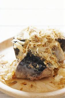 Boiled mackerel can