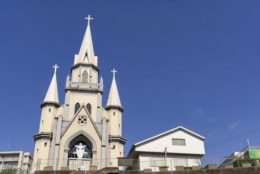 [Nagasaki Prefecture] Miura Town Church in Sasebo City