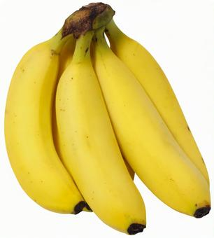 Banana (PSD with transparent background and clipping path)
