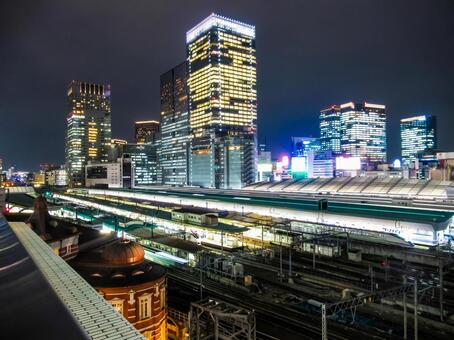 도쿄역 야경