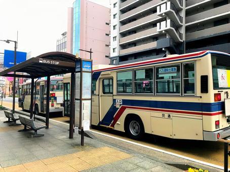 Bus stop Transportation energy saving