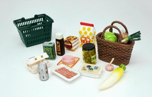 Shopping at supermarket 【2】