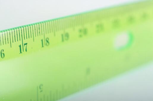 Scale of ruler 9