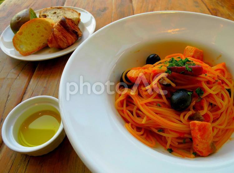 イタリア料理 パスタの写真