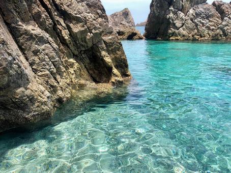 Amami Kakeromajima Beautiful sea