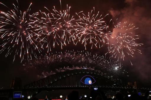 悉尼海港大桥新年