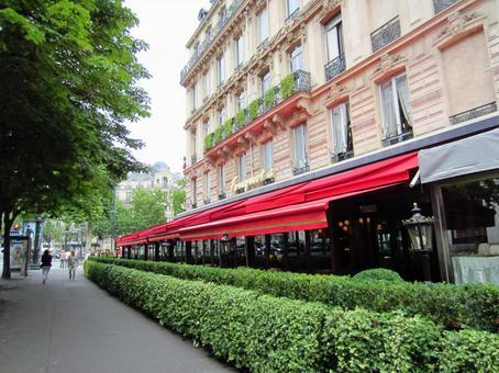 Paris cityscape