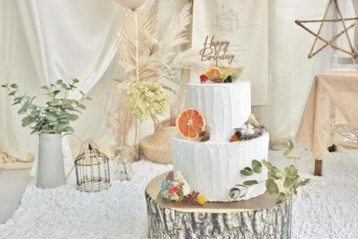 Birthday, birthday display, cake