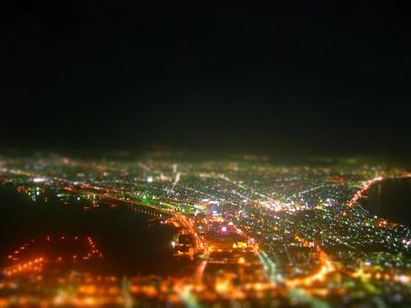 Miniature night view 2