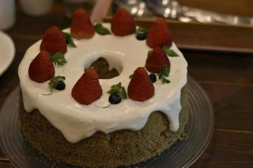 [Cake] Strawberry cake
