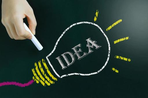 Idea business and study image