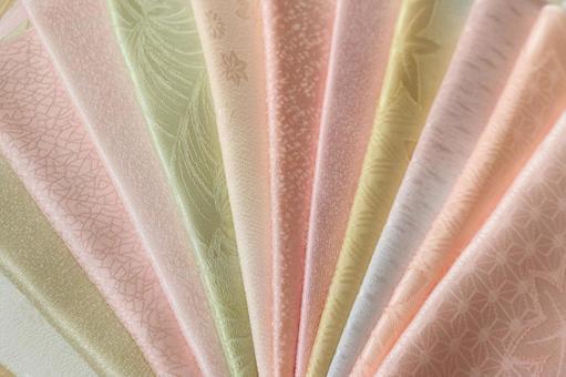 純真絲織物obi炒美麗多彩什錦背景