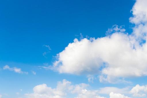 푸른 하늘과 흰 구름