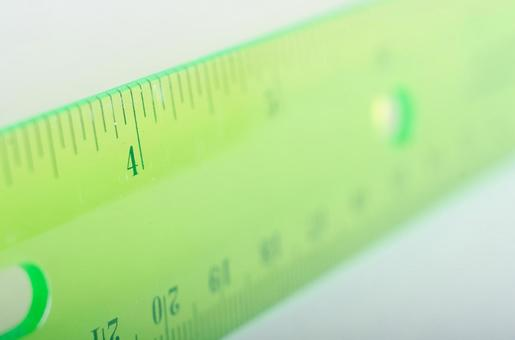 Scale of ruler 8