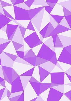 Polygon seamless purple