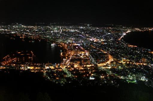 Night view of Hakodate Night