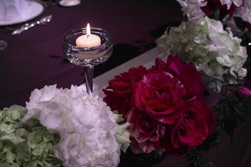 꽃과 촛불