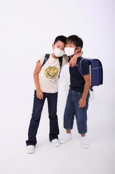 感冒的小學生3