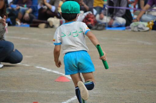 幼兒園運動會接力