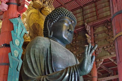 Todaiji Daibutsu, a cultural property of the ancient city of Nara