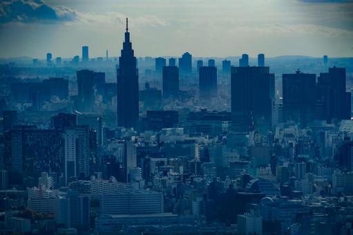 Shinjuku cityscape (from the observatory of Sunshine 60)