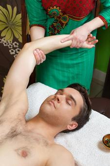 Arm massage 1