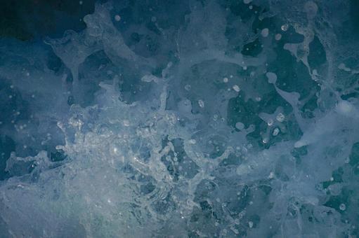 Intense splash image (wallpaper material)