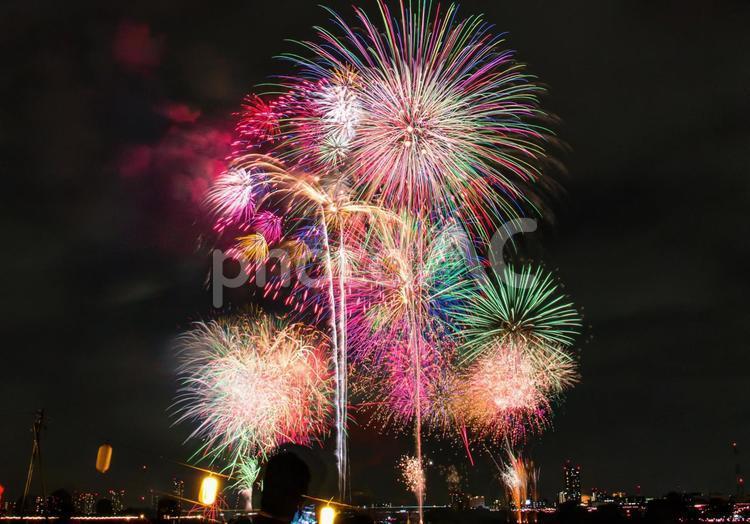 戸田公園花火大会の写真