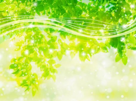 Streamlined abstract background with sunbeams