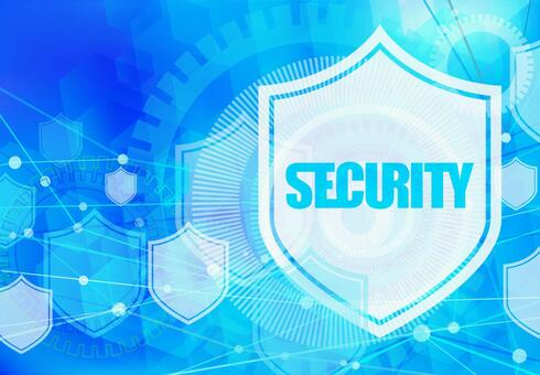 Cyberspace security image background