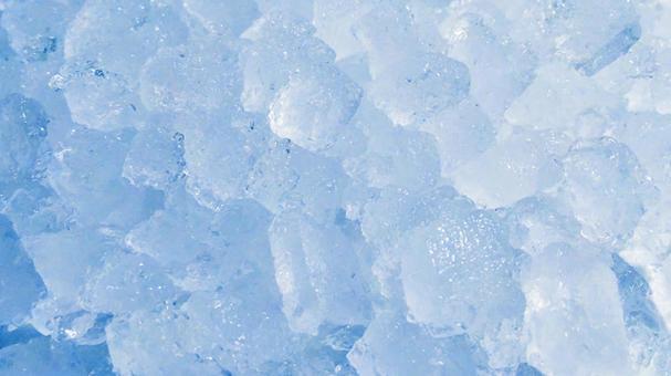 얼음의 질감 11 (하늘색)