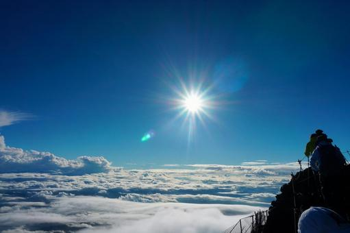 Mt. Fuji and the sea of clouds 55