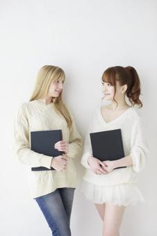 Female friend Foreigner and Japanese 5