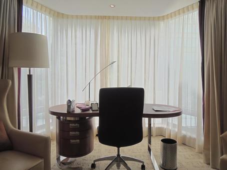 호텔의 방