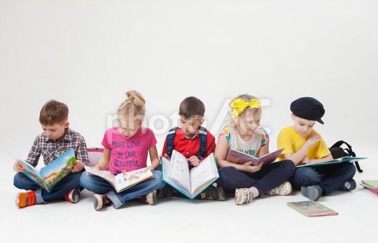 外国人の子供達38の写真