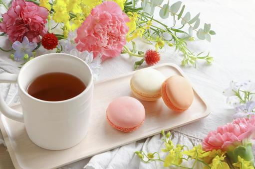 Relaxed tea time
