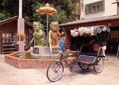 Taiwan Tainan Anping Street scenery