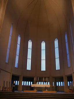 Altar of Hatle Grims Church