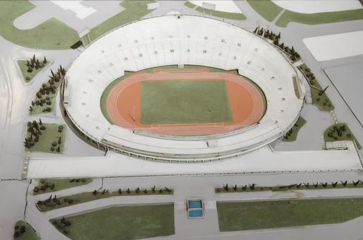 Model of the National Stadium