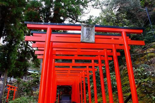 Kaede Inari Shrine of Gifu Ina Shrine