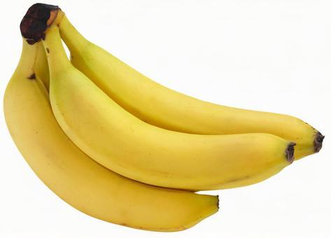 Banana (PSD has transparent background / cutout path)