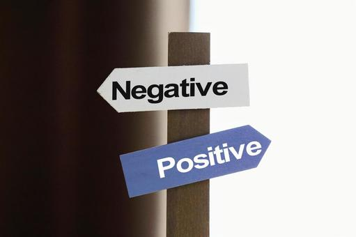 Image material, positive or negative